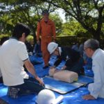 2017年6月4日 安毛地区で防災訓練が行われました