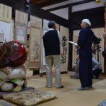 2017年5月26日 清泰寺で郷土の偉人 画家作品 清遼展が開かれました