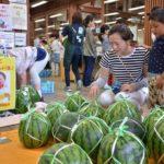 2017年7月15日 美濃にわか茶屋でスイカ祭りが開催されました