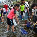 2017年7月23日 曽代用水アユすくいイベントが行われました