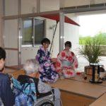 2017年8月3日 武義高校茶華道部による納涼茶会が開催されました