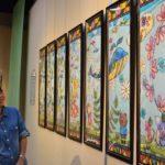 2017年9月6日「ゆまあひmaki作品展 和紙で彩られた切り絵の世界」が始まりました