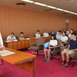 2017年9月1日 美濃市・士幌町フレンドシップ交流事業報告会が行われました