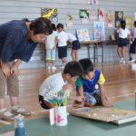 2017年8月31日 夏休み作品展「宝物展」が開かれました