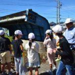 2017年10月4日 美濃小学校の児童が曽代用水について学びました