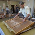 2017年10月11日 関ヶ原の合戦に使われた采配の復元事業を行っています