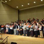 2017年11月5日 第九演奏会合唱団の指揮者合わせ練習が行われました