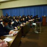 2018年2月22日 武義高校で特進クラス講座が行われました