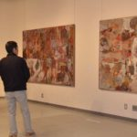 2018年2月16日 岐阜県移動美術館『坪内節太郎と石川勇展』が始まりました
