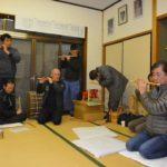 2018年3月7日 桜曳きのお囃子練習が行われました