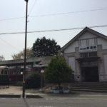 旧名鉄美濃駅。
