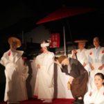昨日永昌院にて行われた「狐の行列」です。