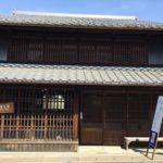 うだつの町並みにある、吉田工房の節句飾り。