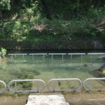 長良川と平行にある、「曽代用水」です。