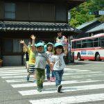 2018年5月16日 美濃ふたば幼稚園で交通安全教室が開かれました