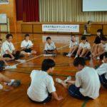 2018年6月19日 美濃中学校で少年非行防止タウンミーティングが行われました