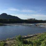 横越(よこごし)から見た長良川の風景です。