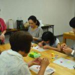 2018年6月2日 美濃和紙の里会館でクイリング体験教室が開かれました