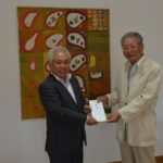 2018年7月24日 画家・石川勇さんの作品が市へ寄贈されました