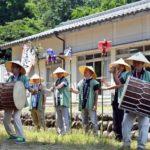 2018年7月22日 上野地区で虫送りが行われました