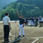 2018年7月15日 第61回町内対抗軟式野球選手権大会が始まりました