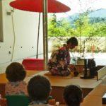 2018年8月3日 武義高校茶華道部による納涼茶会が開催されました