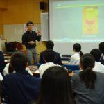 2018年10月25日 武義高校で特進クラス講座が行われました