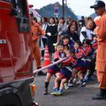 2018年10月26日 幼年消防クラブ「ちびっこ広場」が行われました