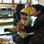 2018年12月14日 美濃保育園で花餅づくりが行われました