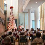 2018年12月20日 美濃病院でクリスマスコンサートが行われました