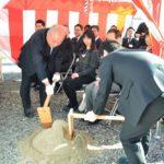 2018年12月13日 「旧松久才治郎邸」の改修工事着工式が行われました