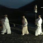洲原神社垢離取祭。