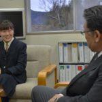 2019年1月21日 全国大会出場者が教育長を表敬訪問しました