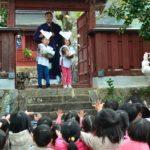 2019年2月7日 美濃保育園児が稲荷(いなり)祭に参加しました