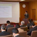 2019年2月25日 職員政策立案研修発表会が行われました