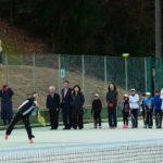 2019年1月26日 美濃市運動公園テニスコートがリニューアルしました