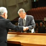 2019年3月8日 高齢者学級「梅山大学」の卒業式が行われました