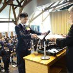 2019年3月4日 岐阜県立森林文化アカデミーで卒業式が行われました