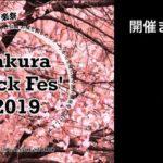 春の音楽祭「さくらロックフェス 2019」