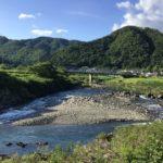 上河和の長良川沿い。