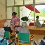 2019年8月7日 武義高校茶華道部による納涼茶会が開催されました